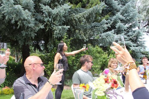 A Toast at Sullindeo Farm with Privato Wine