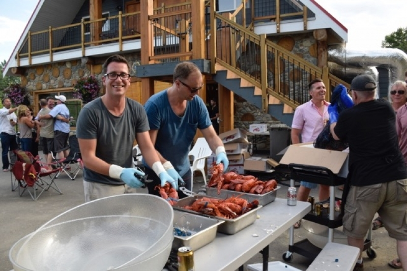 Lobsters Ready To Serve