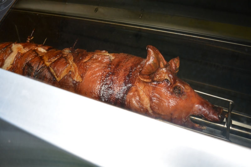 Roasted Privato Pig