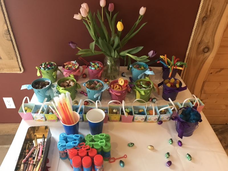Carrie Smith Easter Wedding Feature Table