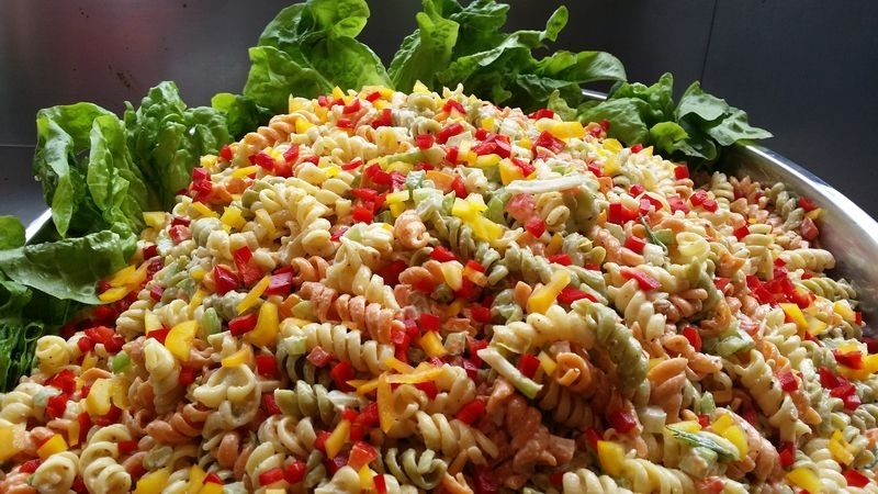 Nourishing Gourmets Seasonal Pasta Salad