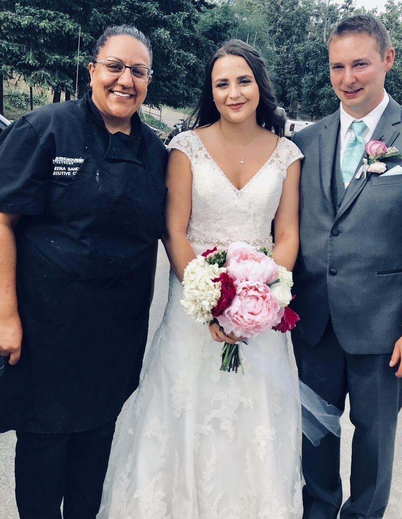 Aksel, Emily, and Sameena